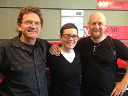 L-R, Russell Shakespeare, Heather Faulkner and Glenn Hunt